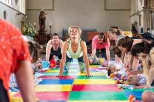 Mum & Baby Yoga class @ St James Church